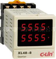 XL48-8多功能时间继电器/转速/频率表组合型