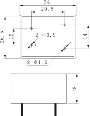 无触点继电器控制正反转接线图