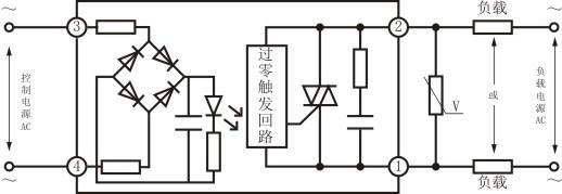 三相固态继电器ssr可控硅电力